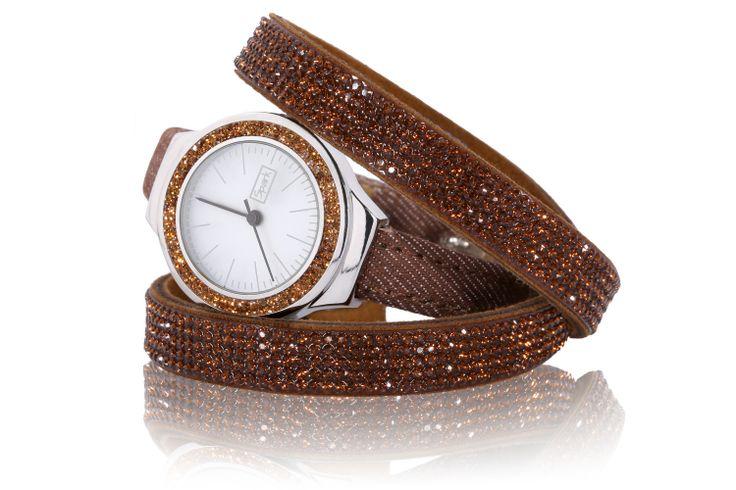#jewelry #jewellery #spark #bracelet #watch #swarovskielements