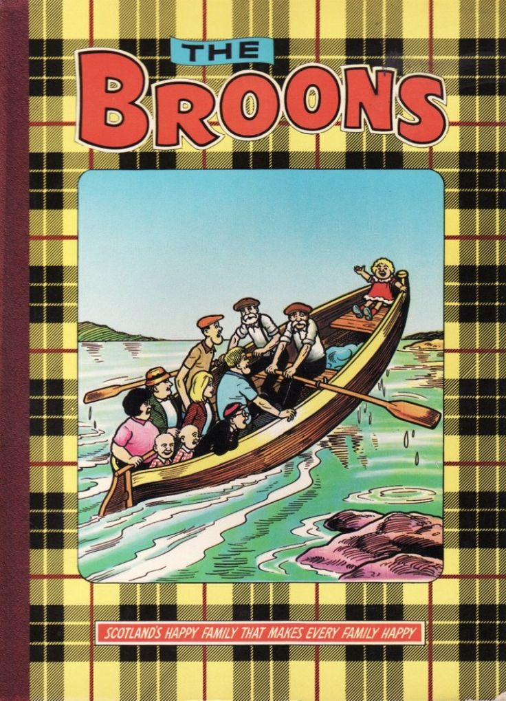 The Broons ....Xmas wouldn't be Xmas without The Broons annual (alternating with Oor Wullie)......I had to read them right through before breakfast on Xmas Day!