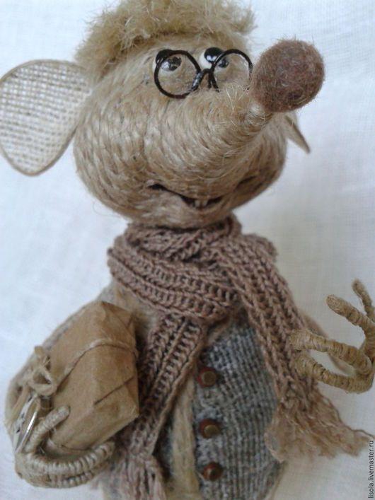 """Игрушки животные, ручной работы. Ярмарка Мастеров - ручная работа. Купить """"Здравствуйте! Я к Вам!..."""" - сказал Мыш. Handmade."""