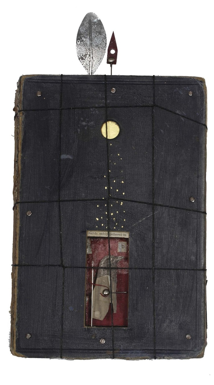 silent parrot press, Glenn Skein: Libraries, Assemblage Collage, Assemblages Art, Parrots Press, Assemblages Collage, Silent Parrots, Paper Collage Assemblages, Art Textile Collage Paper, Mixed Media Collage