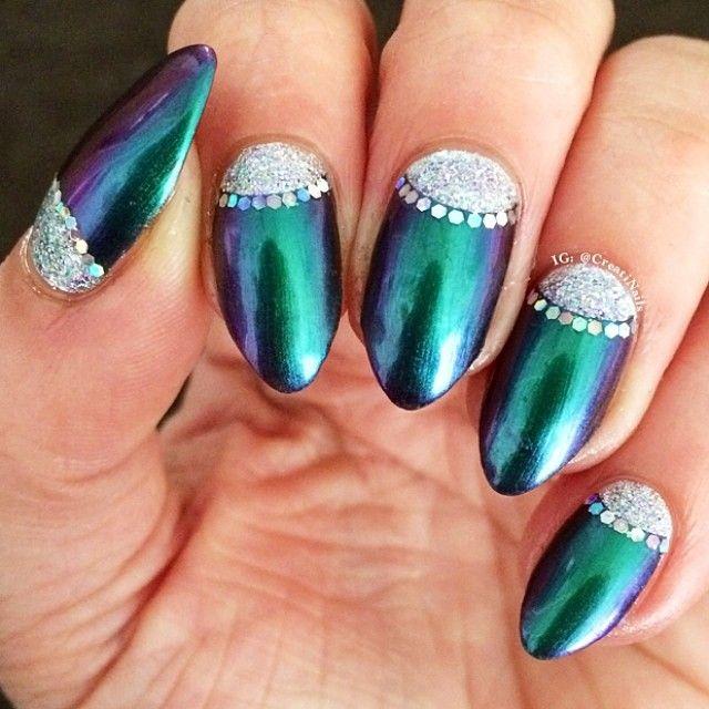Instagram photo by creatinails #nail #nails #nailart - 75 Best Half Moon Nail Art Images On Pinterest Moon Nails, Nail