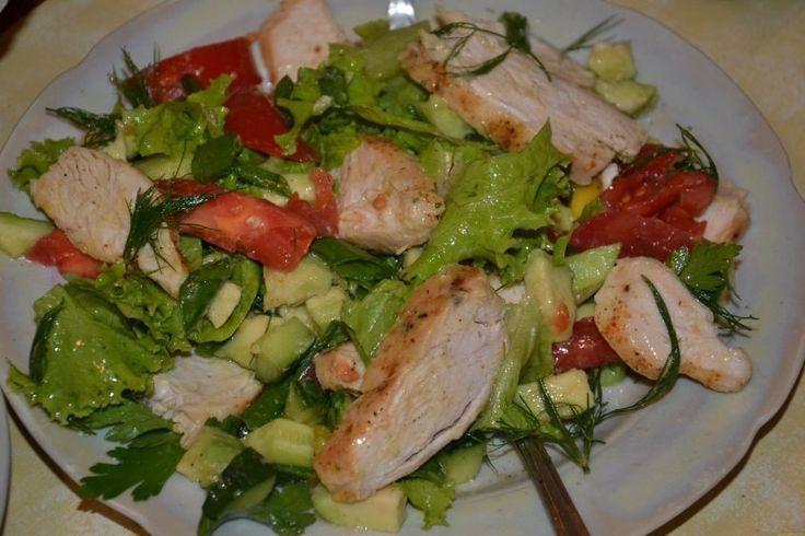 5 фитнес-салатов для плоского живота | Женская страничка