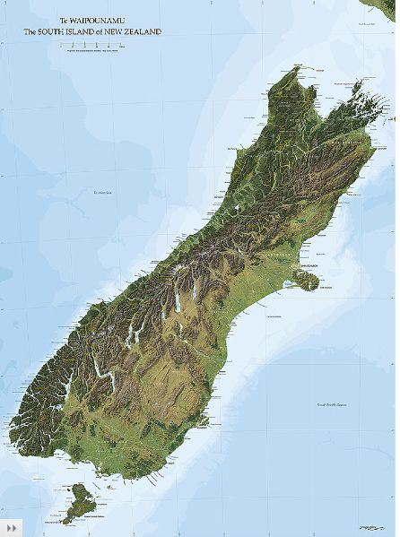 New Zealand is a small country, similar in size to Great Britain or Japan