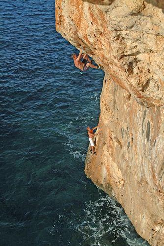 MALLORCA   escalada en rocaVisited the island of Mallorca on my way to Barcelona, Spain