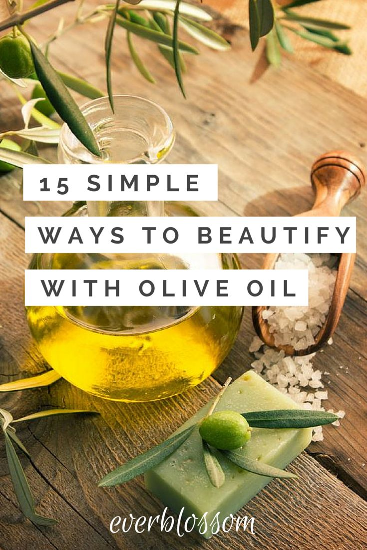 Olive oil beauty uses? Here are 15!
