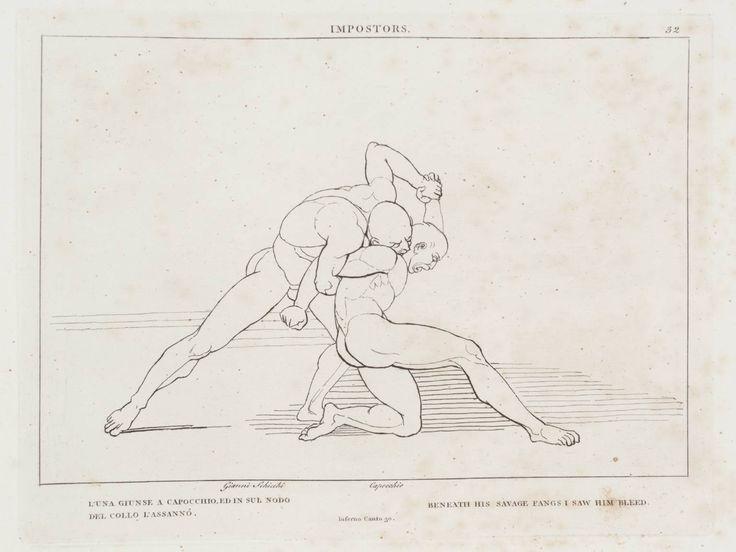 After John Flaxman, 'Impostors' 1807
