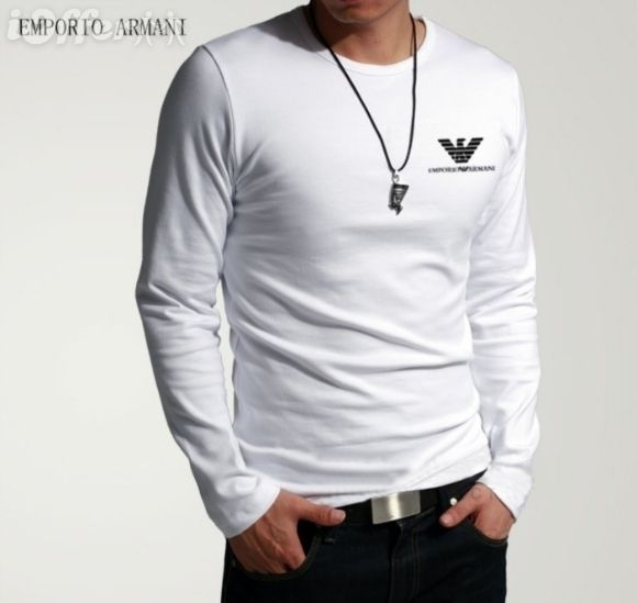 EMPORIO ARMANI EA7 Long Sleeve Mens T-Shirt. Why are overseas designs better than ones available locally.