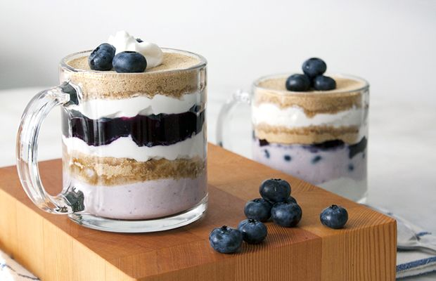 ... -Calorie Blueberry Yogurt Parfait in just 10 mins flat! ft. @Chobani