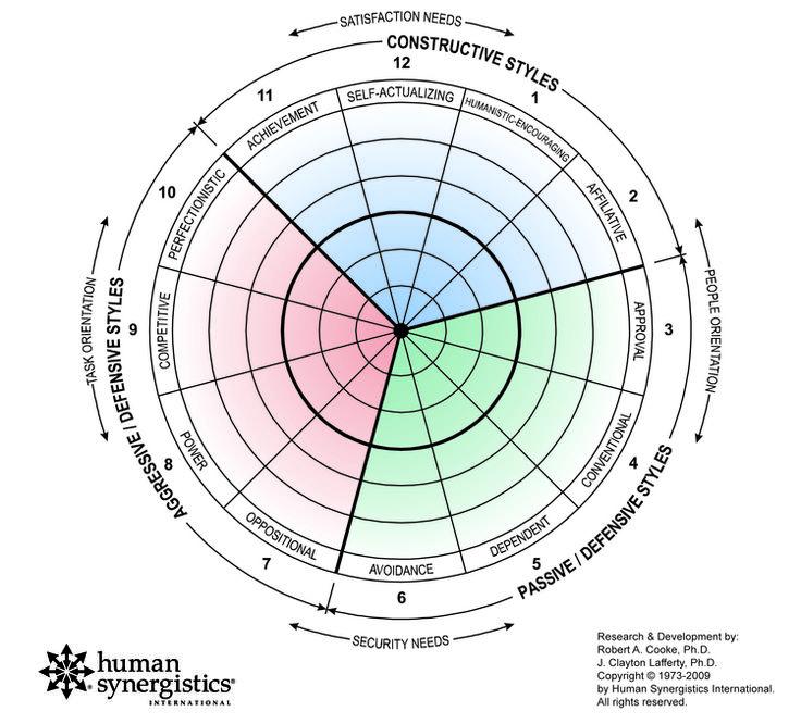Human Synergistics International Circumplex