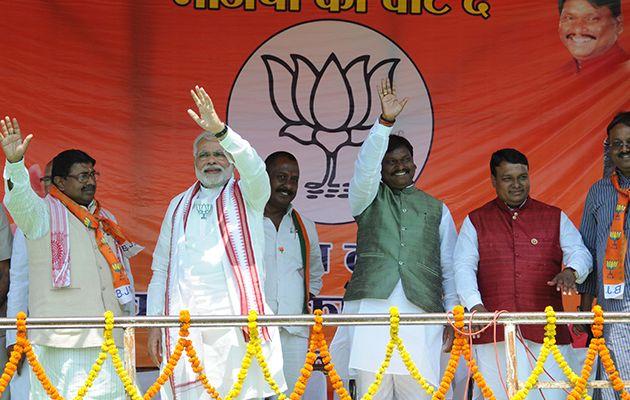 Shri Narendra Modi addresses rally in Jharkhand