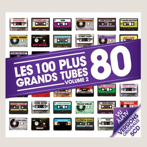 Les 100 Plus Grands Tubes 80 /Vol.2 (Coffret 5 CD): LES 100 PLUS GRANDS TUBES 80 /VOL.2 (COFFRET 5 CD) Cet article Les 100 Plus Grands…