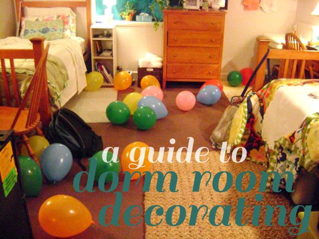 A Guide To Dorm Room Decorating