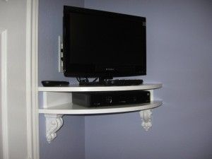 Like the shelf, but straight for on the wall under the tv in our room
