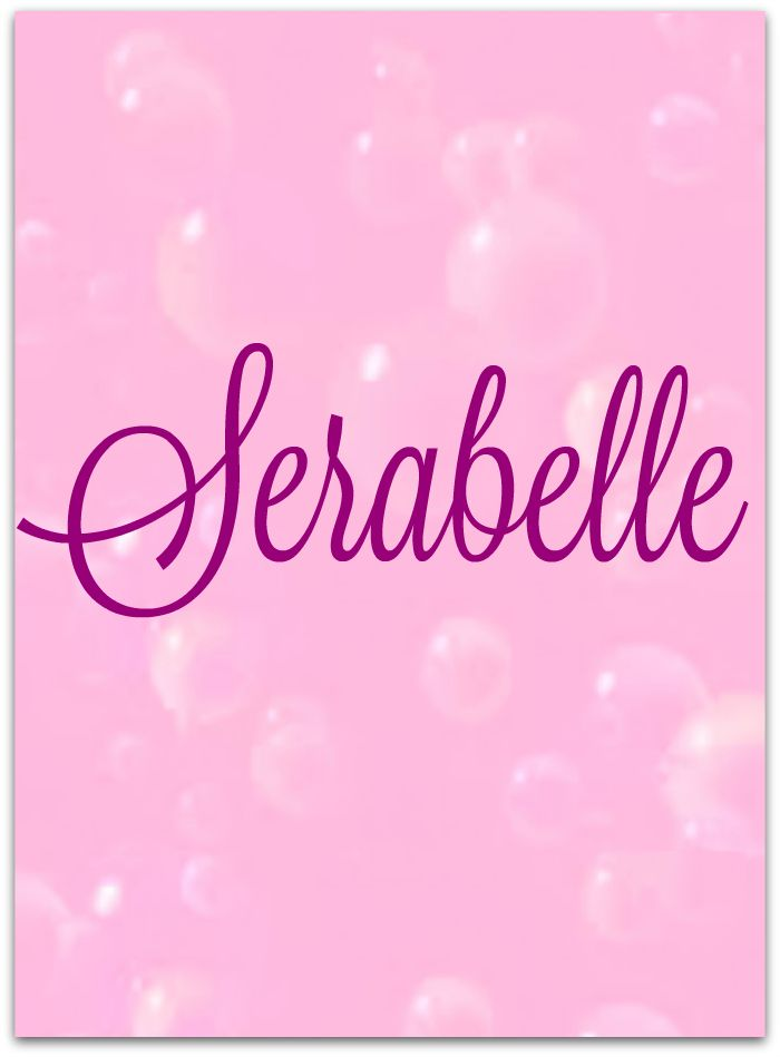 "Unique baby #names. The name ""Serabelle"" means: Self-Reliant Adorable Rebellious Authentic Bashful Educated Likable Loyal Extravagant Sarabelle is a rare first name for a girl in United States which is not even used by anyone since 1931. Only 84 people have Sarabelle as their first name."