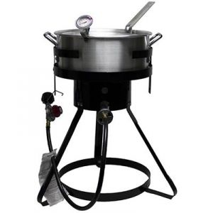 Chard 10.5 Quart Aluminum Outdoor Fryer Package - Mills Fleet Farm