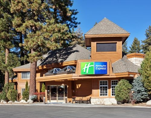 South Lake Tahoe - Holiday Inn Express. Walking distance from grocery store, stores, & casino.