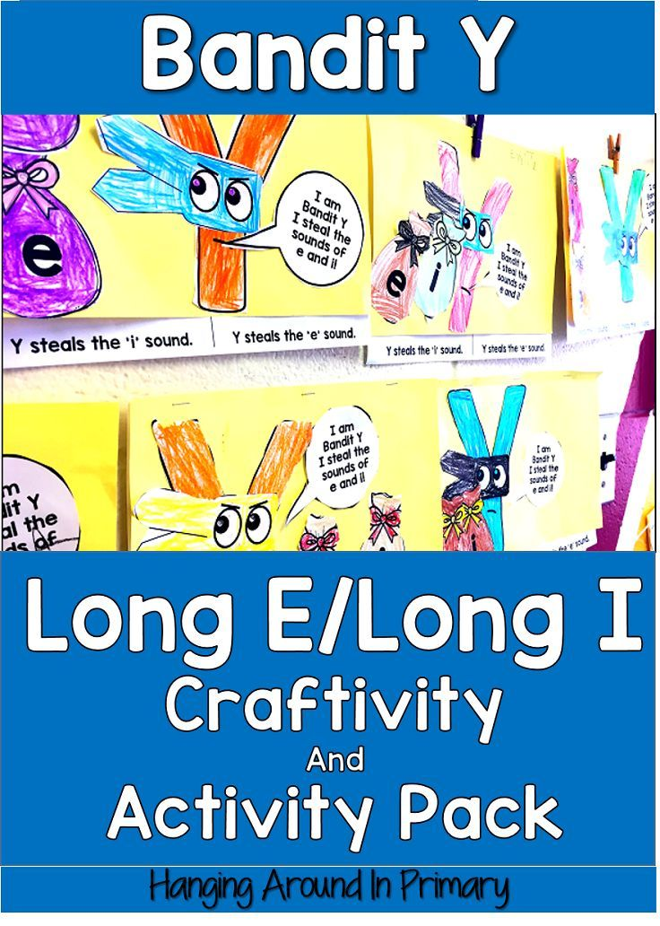 This pack has everything you need to teach the long e and long i sound spelled with Y.  It includes a craftivity, literacy centers, differentiated poems and activities to go with them and printables with answer keys