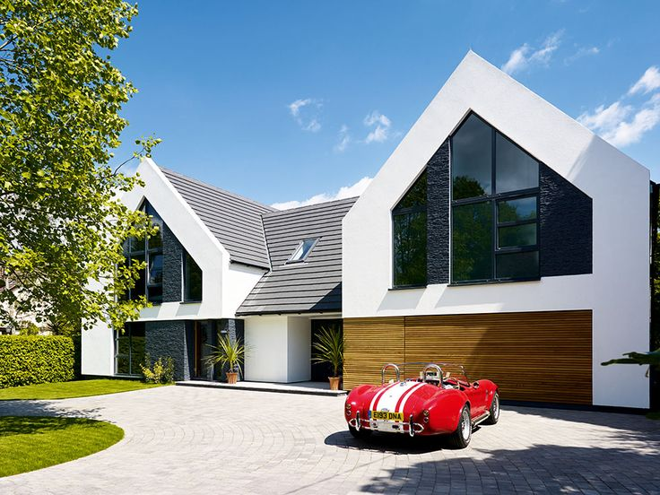 Stuart And Elmarie Ward Have Created An Impressive Contemporary Family Home On A Budget Thanks To