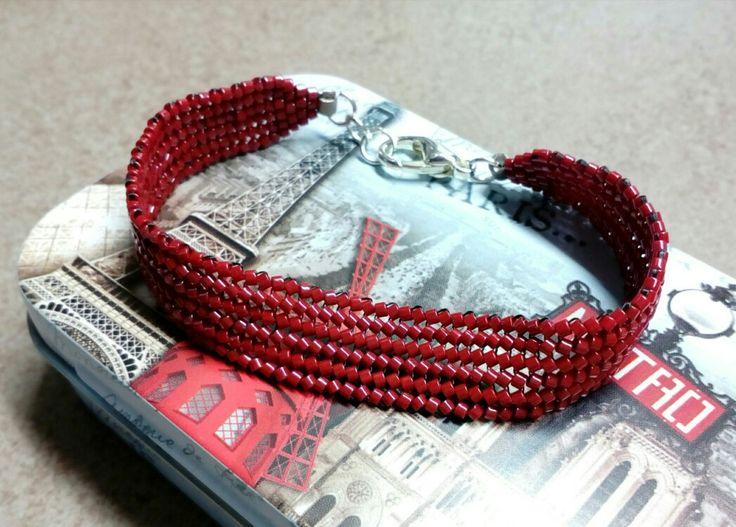 #293 Βραχιόλι με χάντρες /Seed bead bracelet