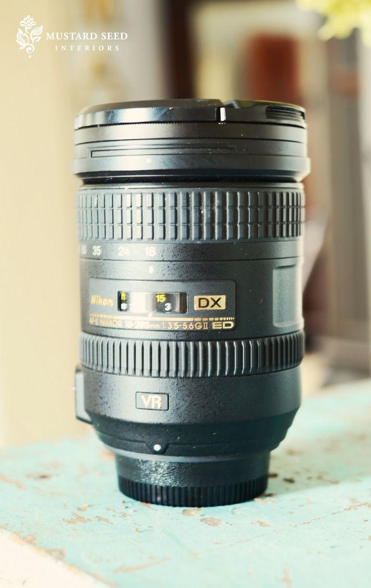 my camera & lenses | Miss Mustard Seed
