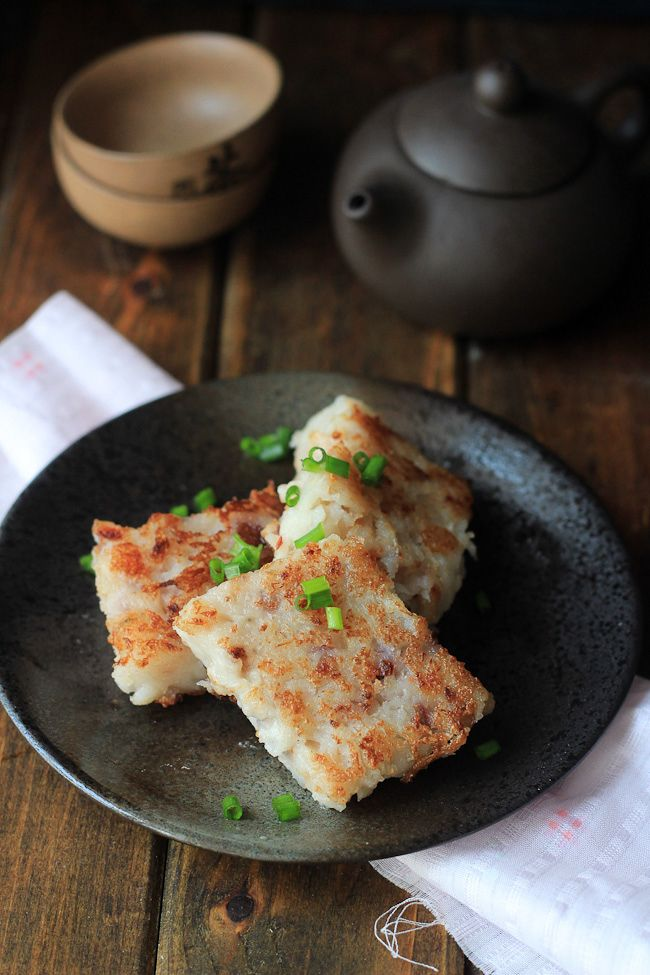 Turnip Cake-Radish Cake – China Sichuan Food