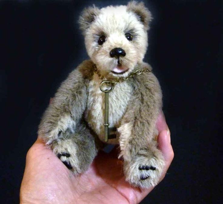 6 Inch Sidney, Artist #Handmade Alpaca Teddy Bear by Custom Teddys. $75.00, via Etsy.