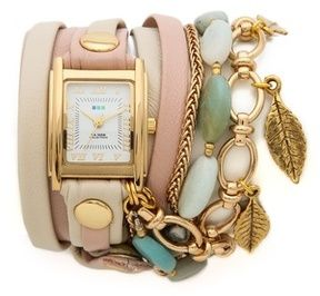 La mer collections Aspen Leaf Charm Watch on shopstyle.com