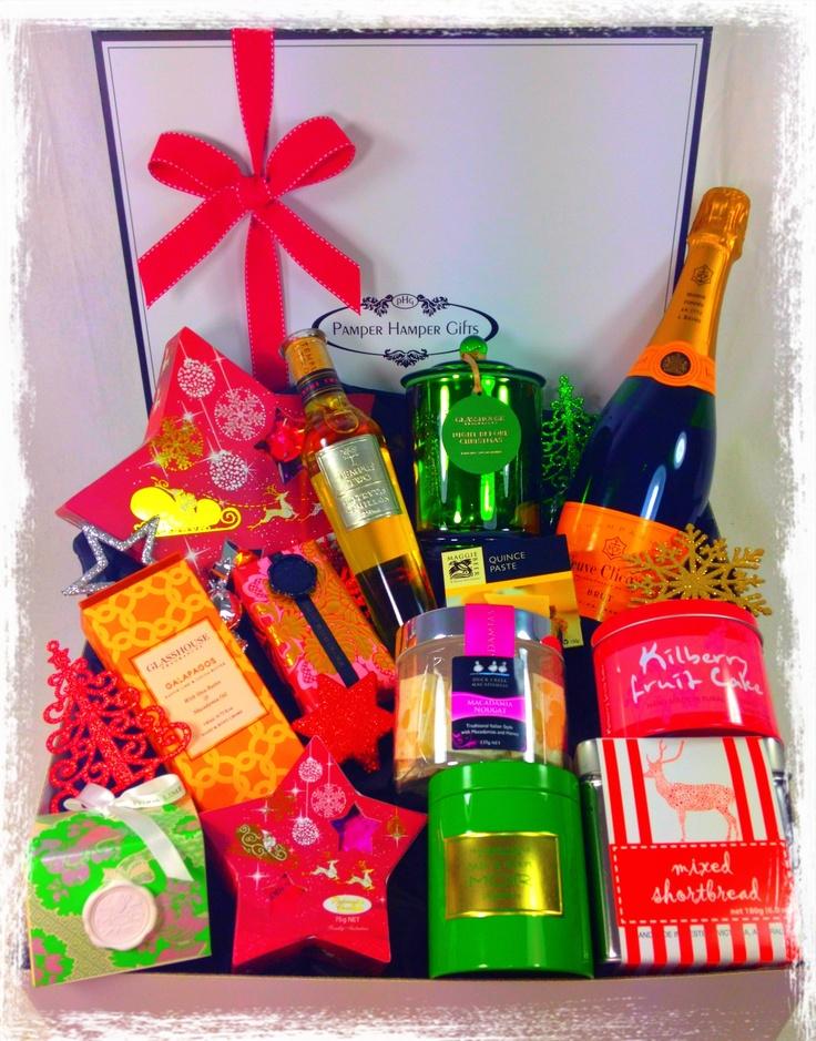 Luxury Christmas Hampers - Australia Wide http://www.pamperhampergifts.com.au