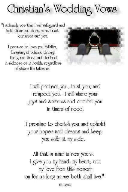 Christian's wedding vows to Ana...so sweet *swoon* lol