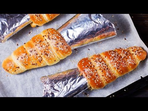 Bread Cones Recipe - YouTube
