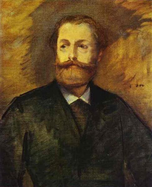 Retrato de Antonin Proust (Estudio), 1877 - Édouard Manet. Realismo
