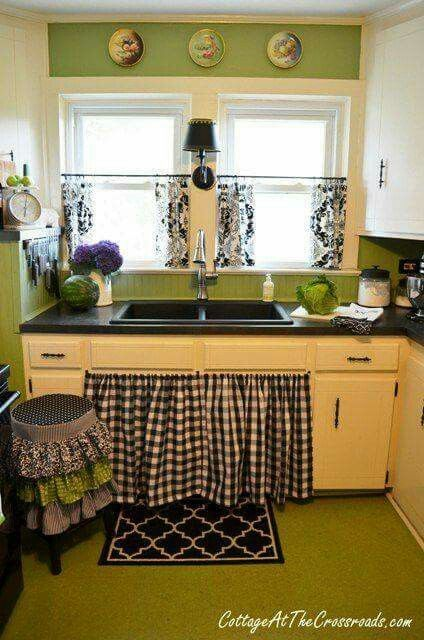 Kitchen Cabinet Skirt