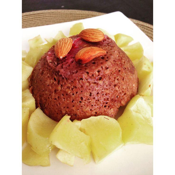Le Bowlcake au chocolat - amandes