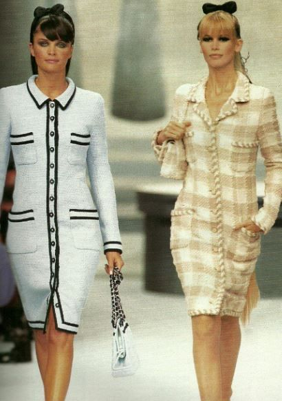 Helena & Claudia - CHANEL HC Fall 1995
