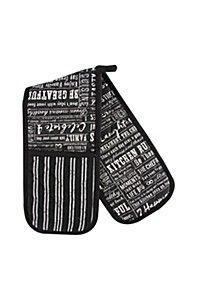 HOUSE RULES DOUBLE OVEN GLOVE