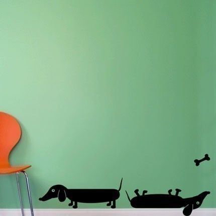 Doxie Wall Decals.... <3