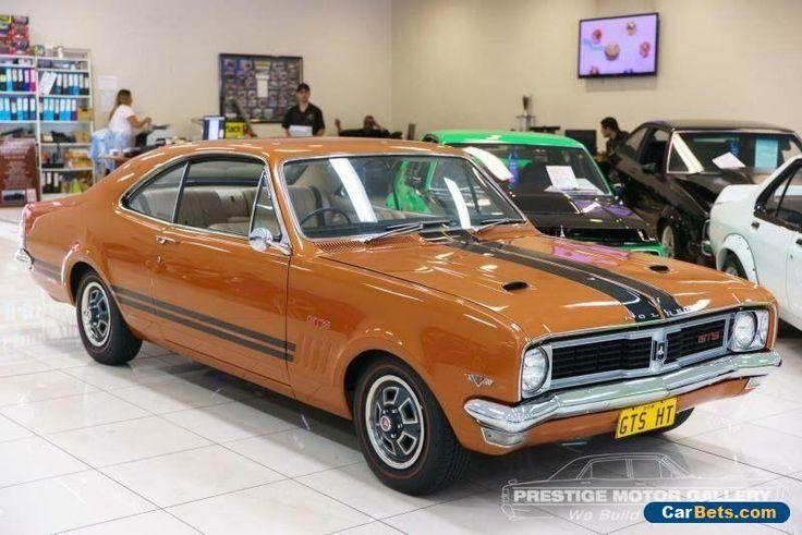 1970 Holden Monaro HT GTS Daytona Bronze Automatic 2sp A Coupe #holden #monaro #forsale #australia