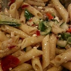 greek pasta salad - tastes like central market's