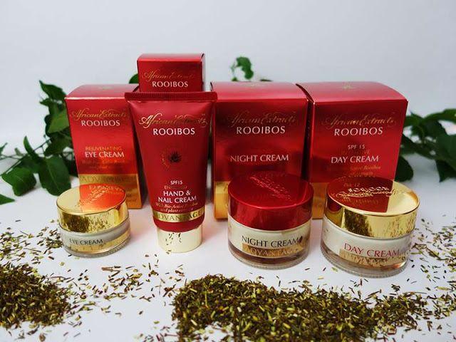 All my cosmetics: Kosmetika Rooibos a anti-aging péče