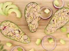 Avocats farcis au thon, une entrée simple, rapide et délicieuse #avocat #thon  Lire la suite /ici :http://www.sport-nutrition2015.blogspot.com