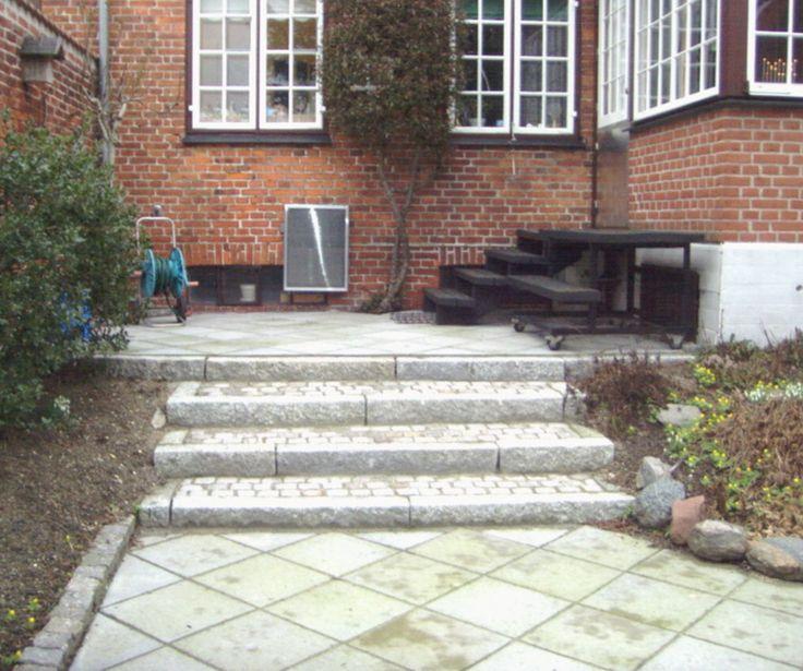 Flisebelægning, trappe, terrasse. per sørensen træfældning og have ...