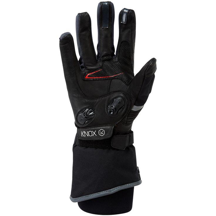 Techstyle winter motorcycle gloves - Waterproof - from Knox