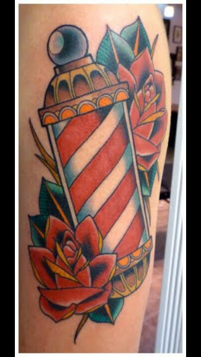 barber pole tattoo tattoos pinterest barber 39 s pole