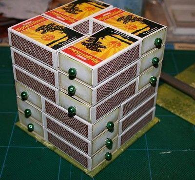 Vos boîtes von Allumettes für Noel – 15. November 2011 – Zurück zum Anzeigen von Mamy Anick
