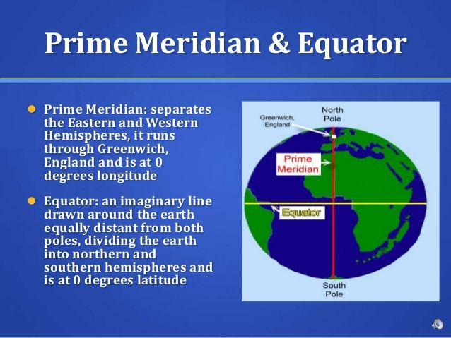 Image Result For Prime Meridian Definition Equator And Prime Meridian Meridian Definitions