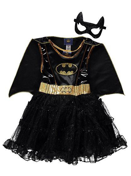 Batgirl Fancy Dress Costume, read reviews and buy online at George. Shop from our latest range in Kids. Your little superhero can defend the streets of Gotha...