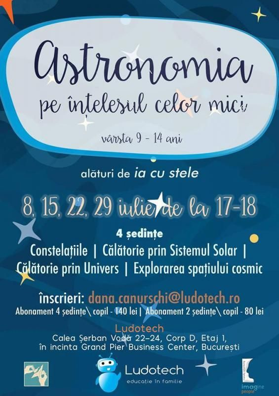 Astronomia pe înțelesul celor mici
