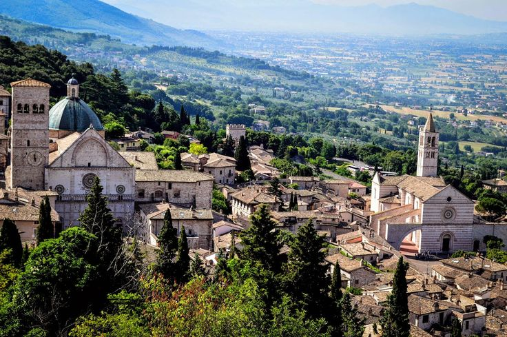 Read about the Italian city of enchantment: Assisi.