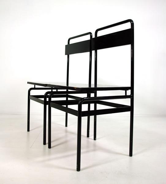j.j.p oud / jacobus johannes pieter oud / tubular steel chairs c.1930-33 / modern-furniture.de