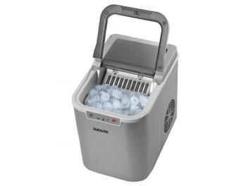 Máquina de Gelo MG1501PR - Suggar --- de R$ 1.299,00 por R$ 1.099,00 em até 10x de R$ 109,90 sem juros no cartão de crédito  ou R$ 1.044,05 à vista (5% Desc. já calculado.) --- Com a máquina de gelo Suggar, o clima está sempre ideal para você receber os amigos e aproveitar os momentos de prazer, com uma recepção alegre e calorosa. Seu design moderno e prático permite que ela vá da cozinha até a sala, fazendo bonito também na hora de produzir até 12 kg de gelo por dia.